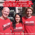 Missa inte programmet om ME-sjuka Emil! Onsdagen den 23 oktober kl. 21.00 – Kanal 5.