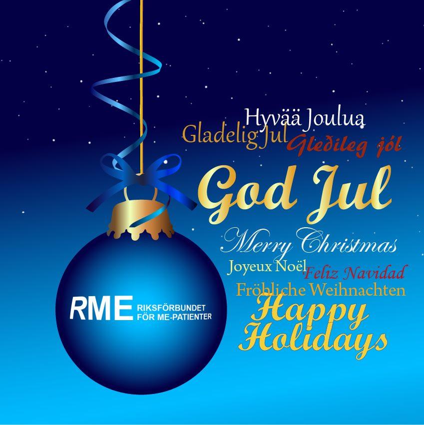 God Jul önskar RME!